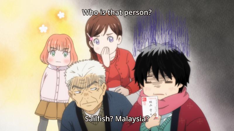 bahasa malaysia di anime