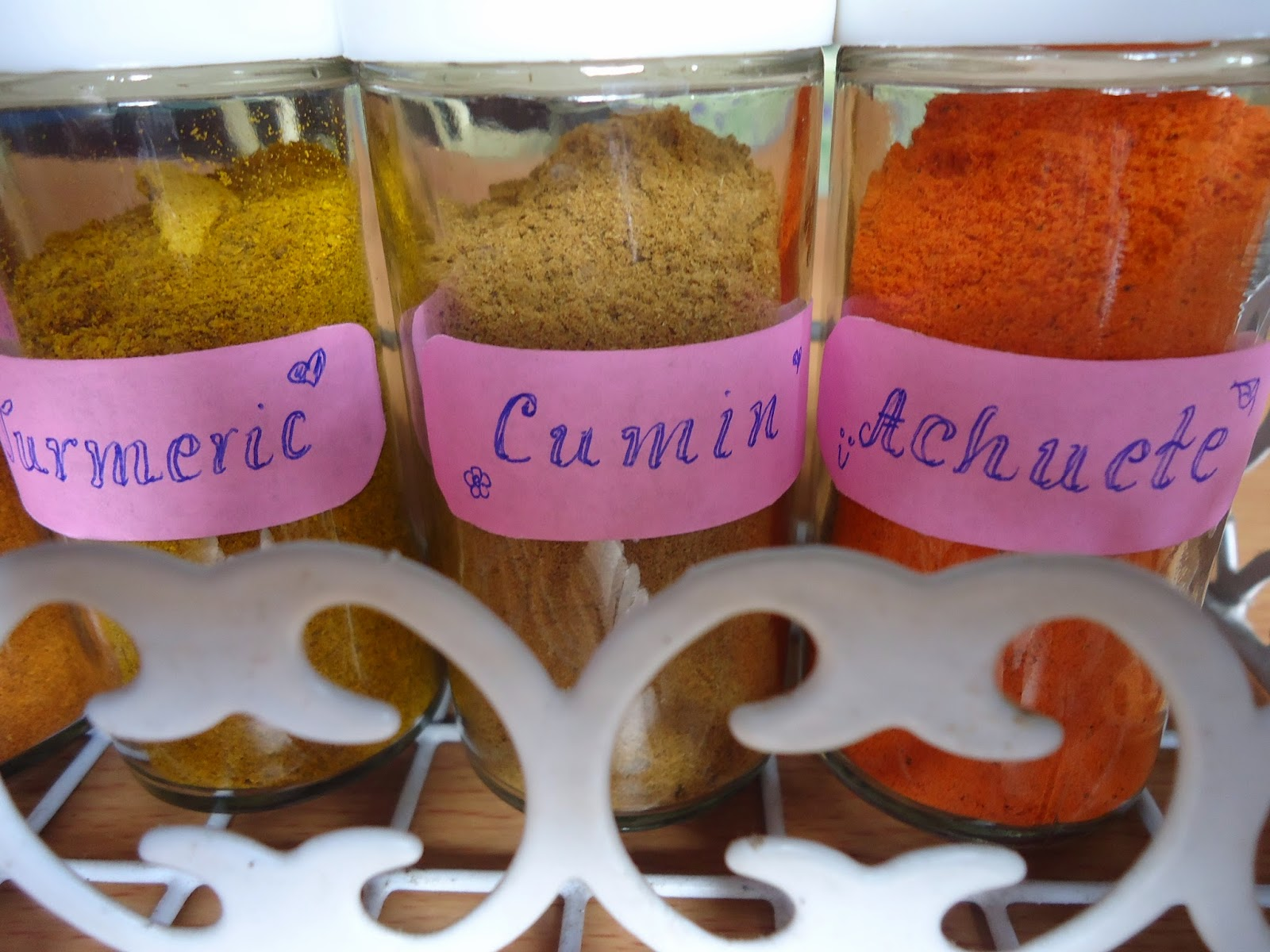 bottled spices