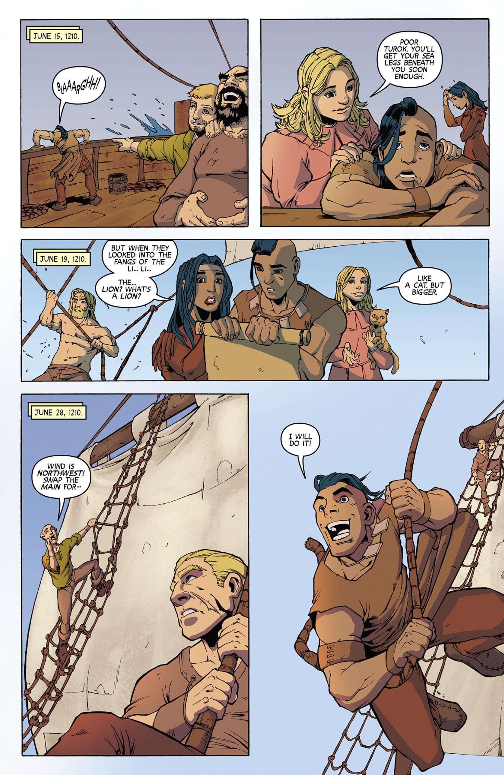 Read online Turok: Dinosaur Hunter (2014) comic -  Issue #9 - 16