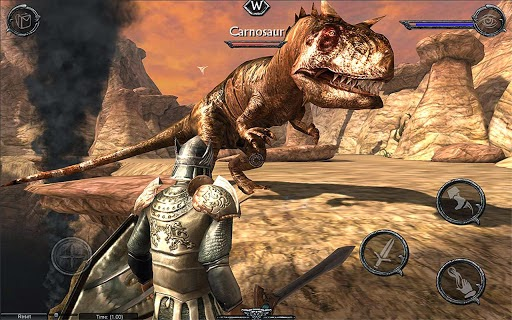 Ravensword : Shadowland MOD APK+DATA Versi 1.3 (Unlimited Golds)