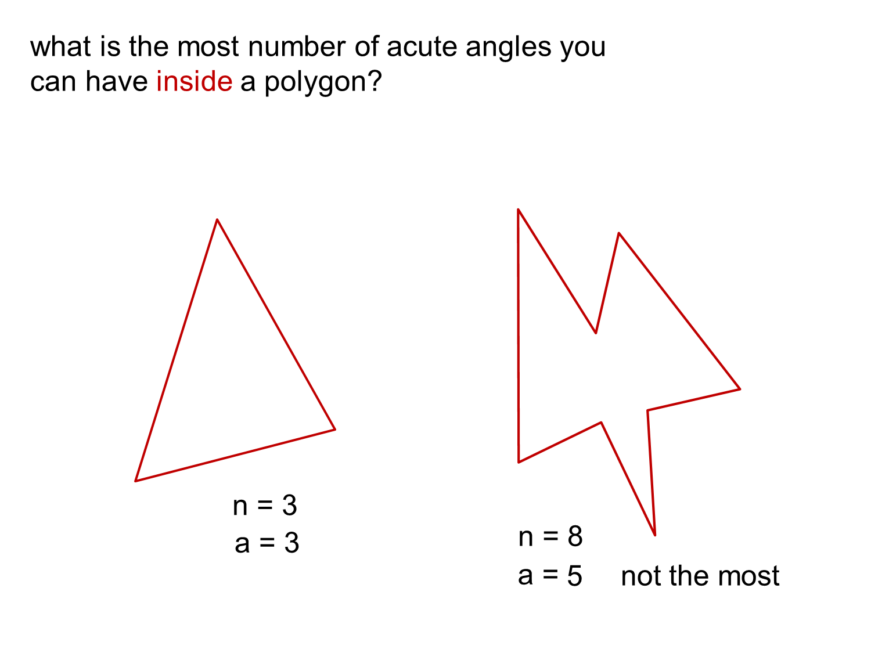 Median Don Steward Mathematics Teaching Most Acute Angles