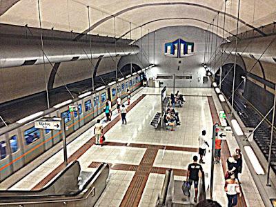 -Στο Μετρό- του ΝΙΚΟΥ ΧΑΛΕΠΛΗ