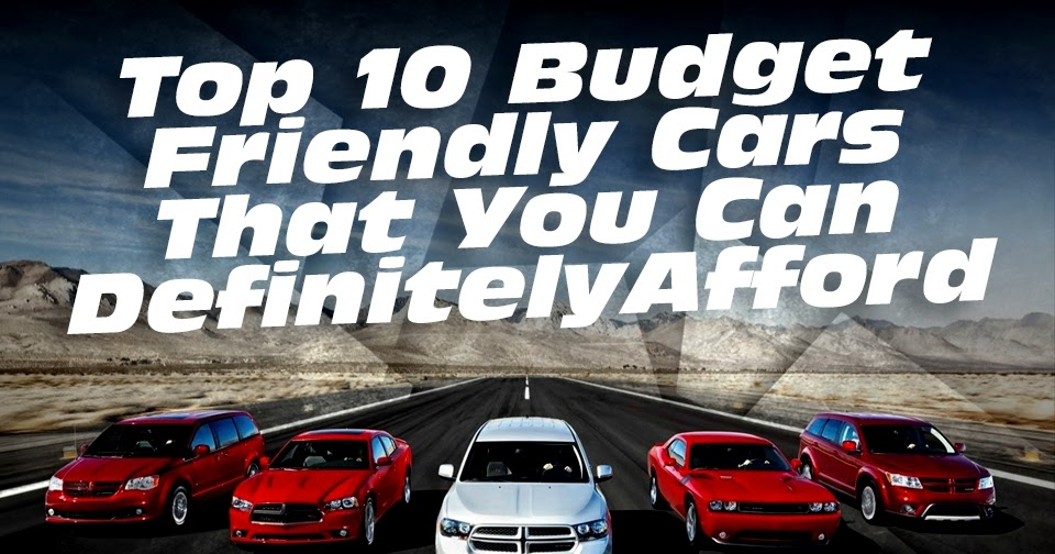 2 Kias For The Price Of One >> The Cars Blog: Top 10 budget friendly cars that you can definitely afford
