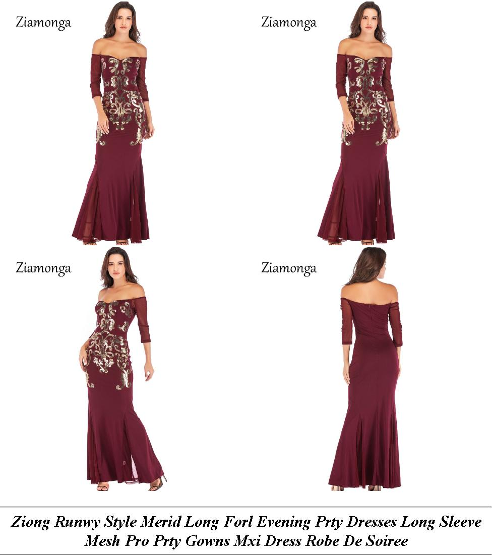 Formal Dresses Online India - Off Season Sale In Chandigarh - Long Sleeve Lack Lace Dress Forever