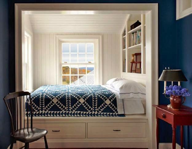 Model Kamar Tidur Kecil Minimalis Sederhana