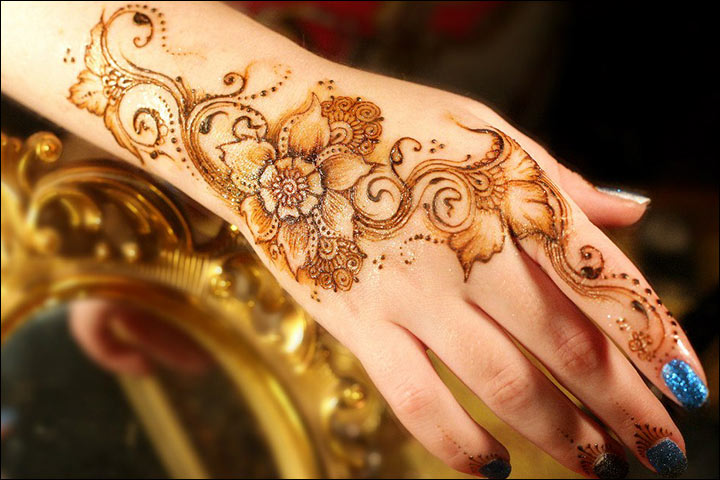 Hand Mehndi New Design : Most love new simple eid mehndi design for hands to inspire you