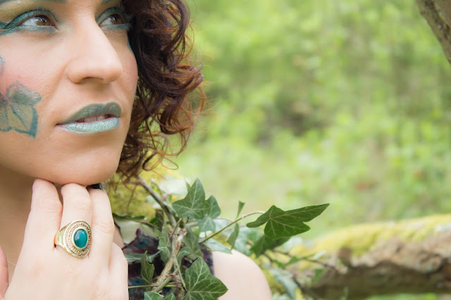 maquillage vert emeraude makeup
