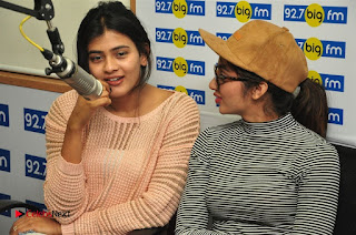 Hebah Patel Tejaswi Madivada Nanna Nenu Naa Boyfriends Movie Song Launch at BIG FM  0012.jpg