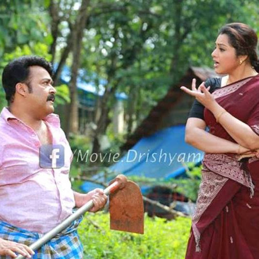 Meena latest hot photos in saree from Drishyam Malayalam movie