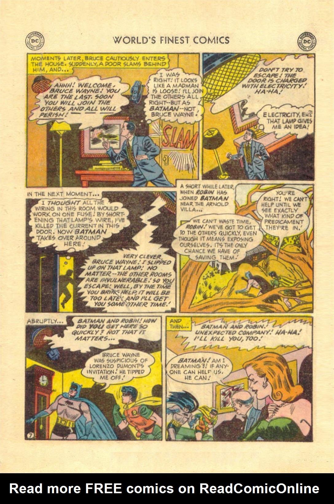 Read online World's Finest Comics comic -  Issue #52 - 69