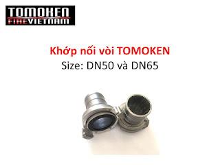 khớp nối vòi chữa cháy D50 D65 Tomoken