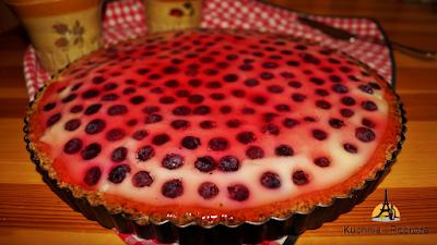 Budyniowa tarta z owocami