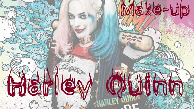 Harley Quinn/Харли Квинн: make-up