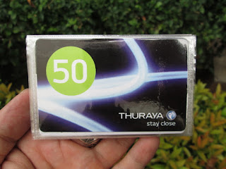 Voucher Fisik Hape Satelit Thuraya 50 Unit