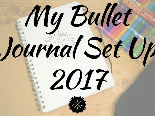 A Peek Inside My 2017 Bullet Journal + My January Set Up