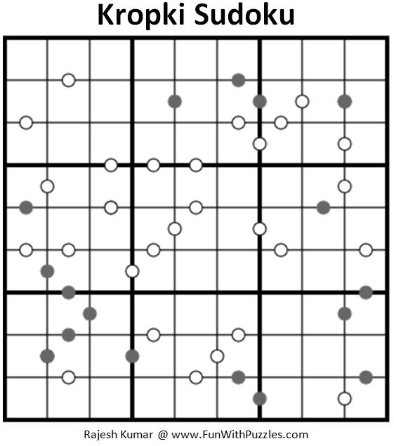 Kropki Sudoku (Fun With Sudoku #186)