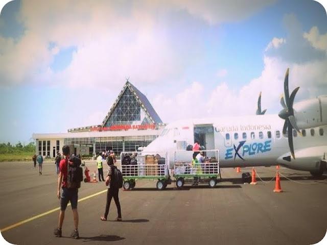 Penerbangan Saumlaki dan Darwin Terkendala Landasan Pacu Bandara Mathilda Batlayeri