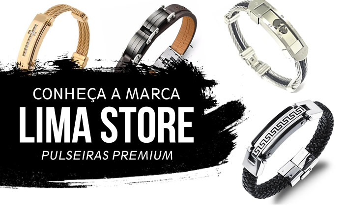 Pulseiras Masculinas Lima Store