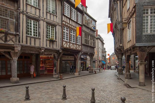 Dinan viaje Bretaña ciudad medieval imprescindibles