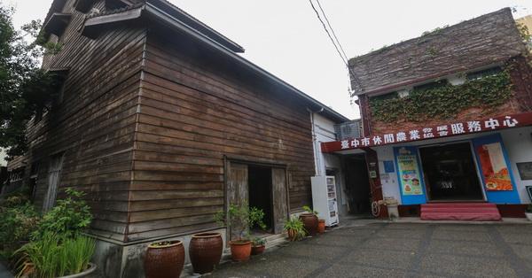 《台中.石岡》石岡穀倉-建於日治時期,充滿石岡人回憶的歷史性穀倉