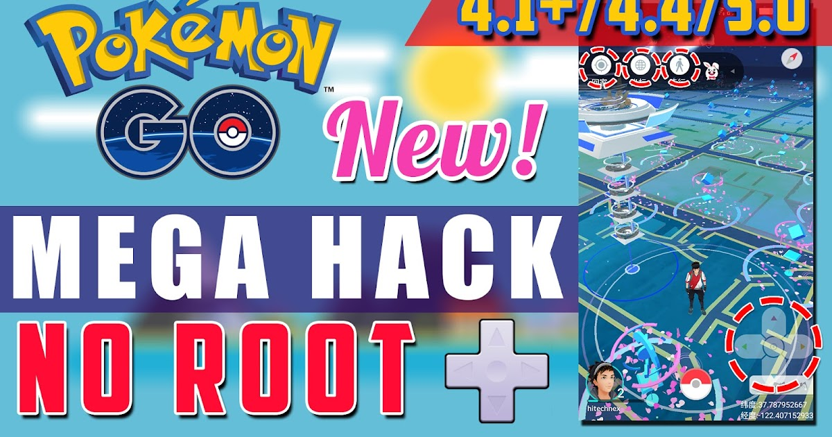 No Root Pokemon Go Mega Hack On Android Joystick Cheat Without