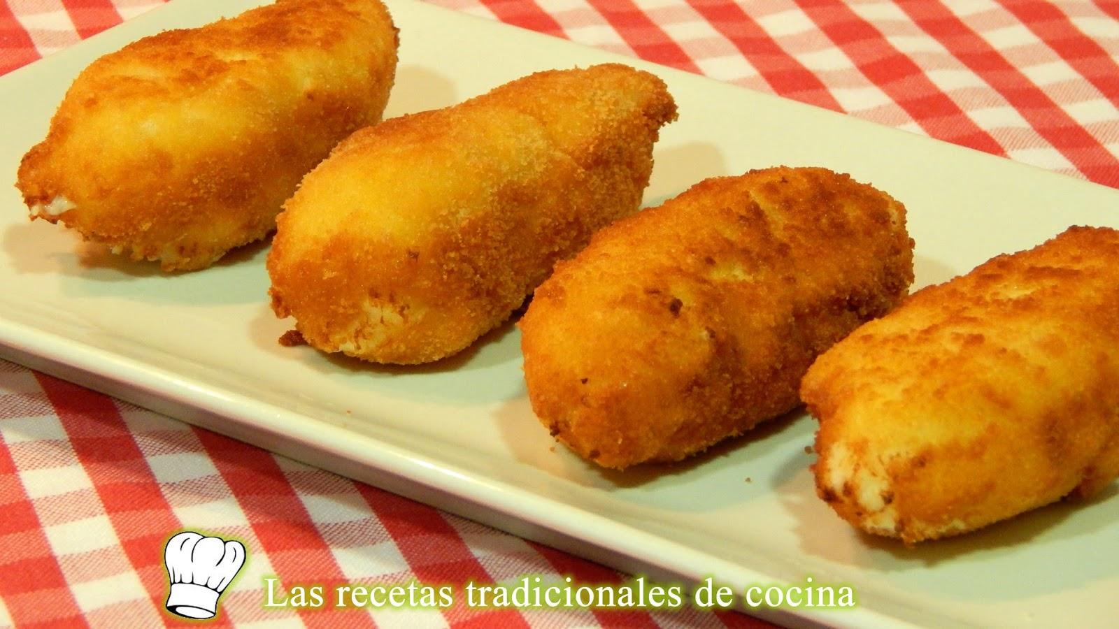 Receta de croquetas de queso muy cremosas recetas de - Postres con queso de untar ...