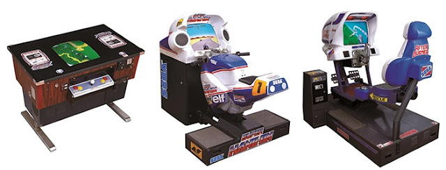 Sega ride-on games