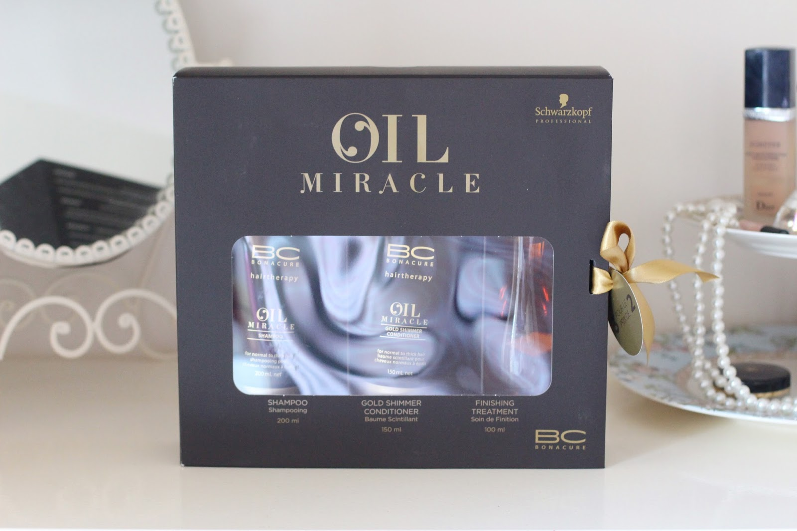 coffret schwarzkopf oil miracle