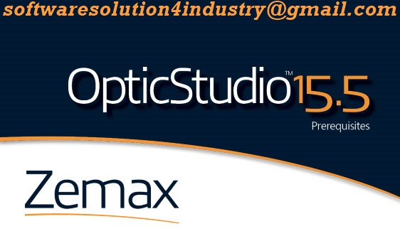 Software Solution For Any Industry : Zemax OpticStudio 15 5 Full PC
