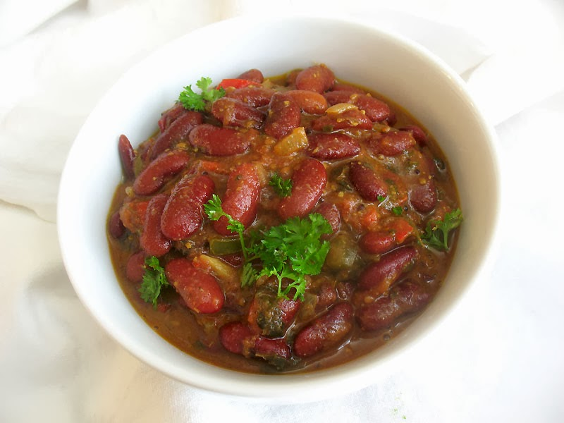 Kidney Bean Curry ( Rajma ) | Lisa's Kitchen | Vegetarian ...