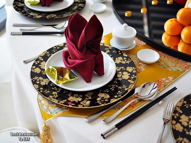NIPAH @EQ KUALA LUMPUR Chinese New Year Table Setting