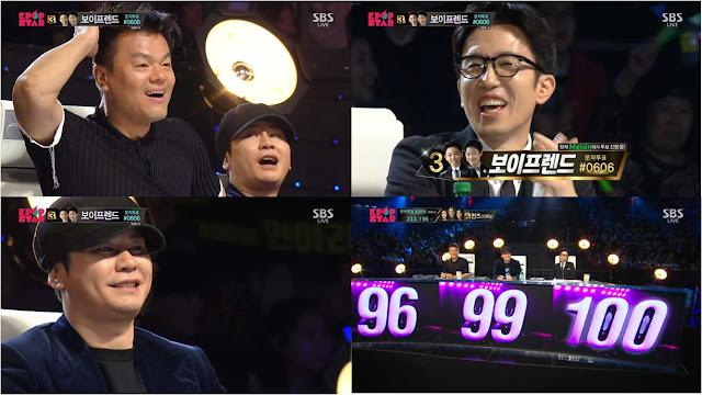 kim jong seop park hyun jin let's get it stated top 4