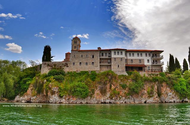 St. Naum (Свети Наум) Monastery on Ohrid Lake, Macedonia