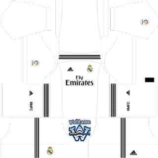 Real madrid 2019 dls kit dream league soccer forma