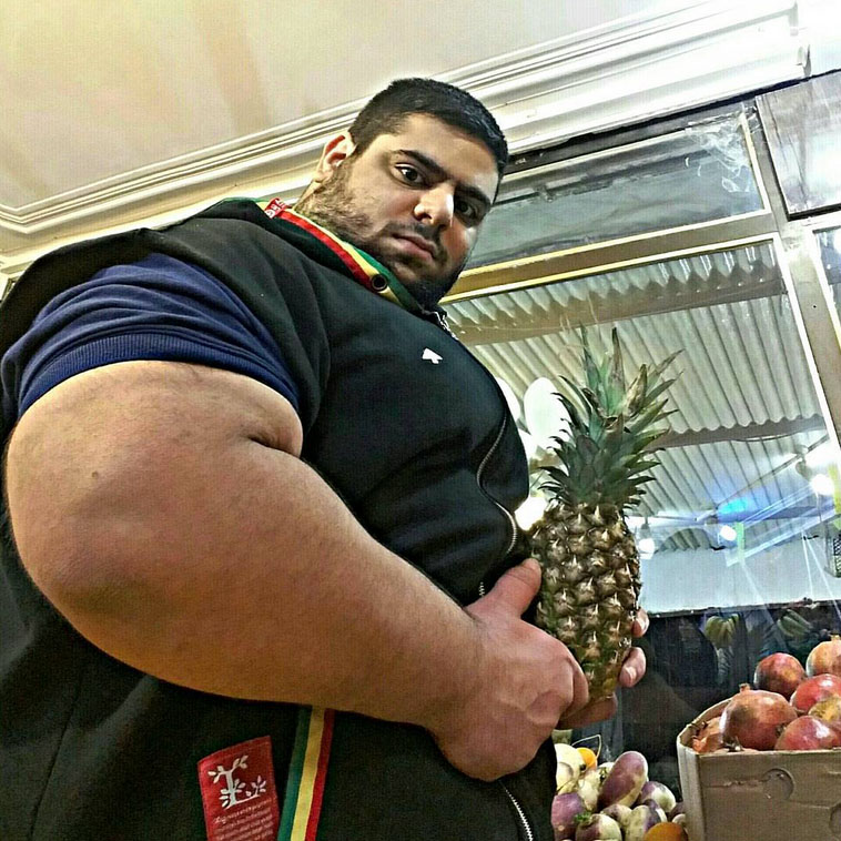 Image result for pineapple flexing muscles