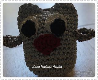 free crochet pattern, free crochet owl amigurumi pattern, free crochet owl key chain pattern