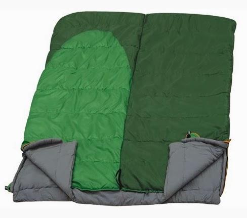 Состёгнутые спальники-одеяла