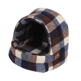 Great OFFER Gor Pets Highland Hooded Warm Luxury Cat Bed Igloo only £25.44 Free P&P