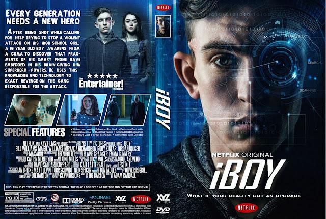 Capa DVD iBoy