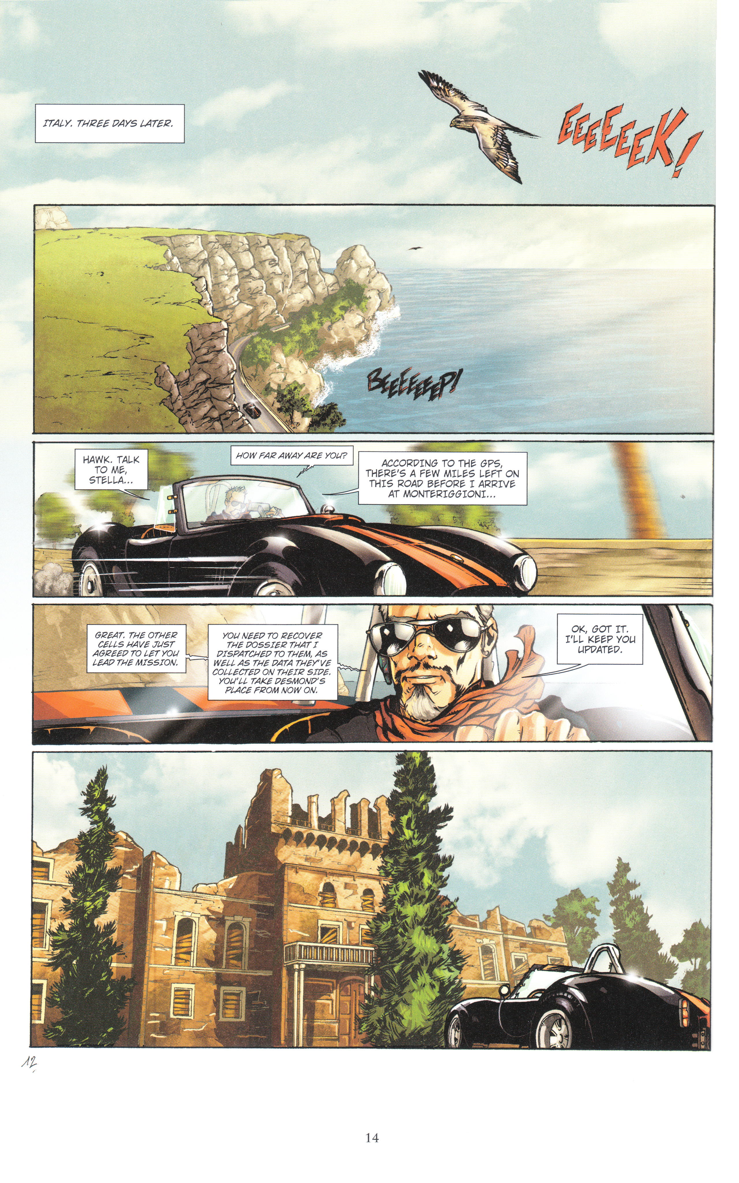 Read online Assassin's Creed (2012) comic -  Issue #4 - 14