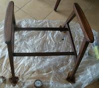 renowacja fotela z PRL krok po kroku