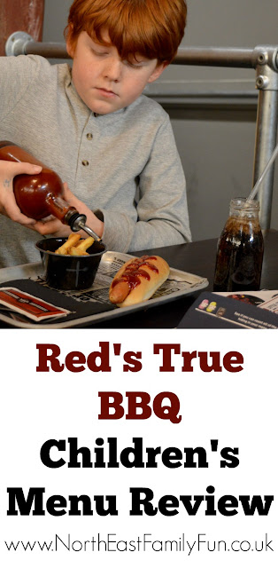 Red's True BBQ at the Grey's Quarter in intu Eldon Square Newcastle | Menu Review (including Children's Menu)