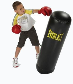 Bag Gloves Images Inflatable Punching Kids