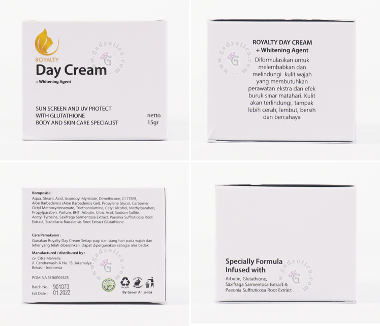 Royalty Day Cream Review