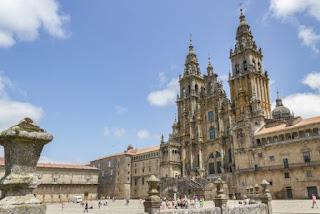 1. Katedral Santiago de Compostela
