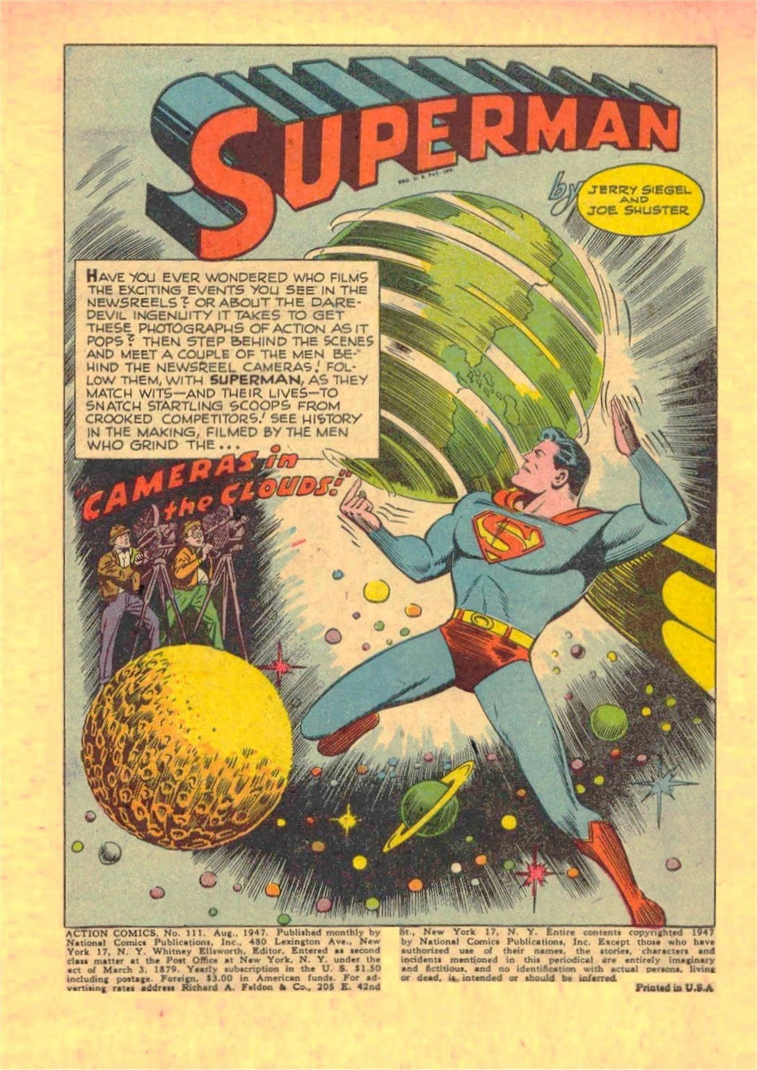 Read online Action Comics (1938) comic -  Issue #111 - 3