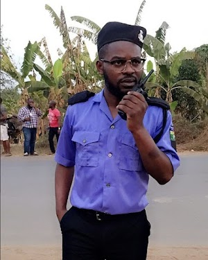 Falz DBadGuy Spotted Wearing Police Uniform (Photos)