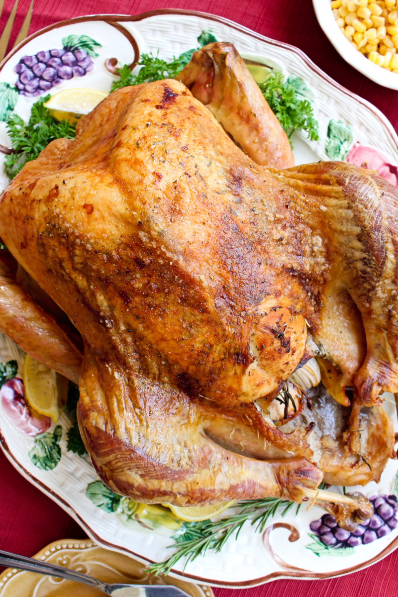 Easy Oven Roasted Turkey The Two Bite Club
