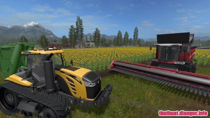 game mô phỏng nông trại