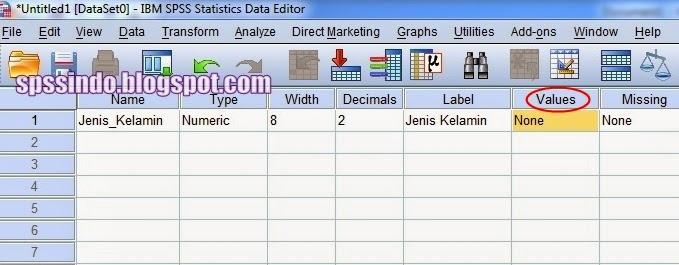 Cara membuat Tabel Distribusi Frekuensi dengan SPSS